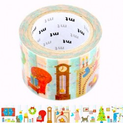 masking tape de noël décoration interieur washi tape Xmas room décor