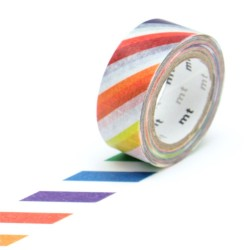 masking tape for kids colorful stripe