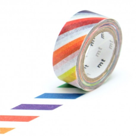 masking tape for kids colorful stripe washi tape diagonal couleurs