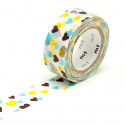 masking tape for kids coeurs washi tape heart