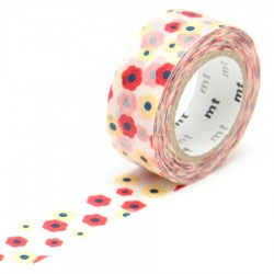 masking tape for kids fleurs