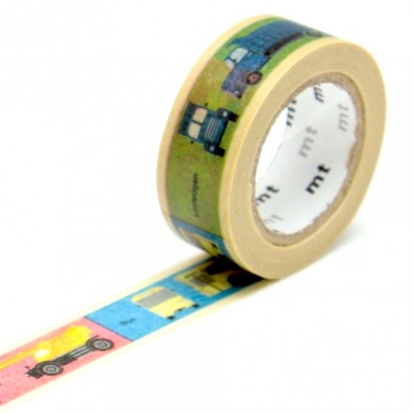 masking tape for kids véhicules washi tape voitures