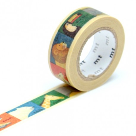 Masking tape kids animaux washi tape animals
