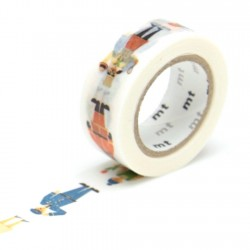 masking tape métiers for kids washi tape work human