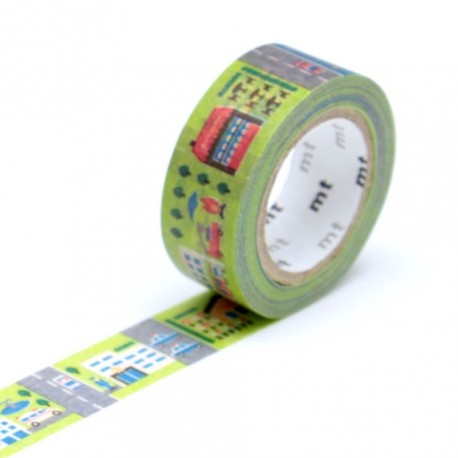 masking tape kid town washi tape ville city street