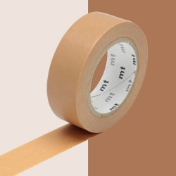masking tape cork marron washi tape brown