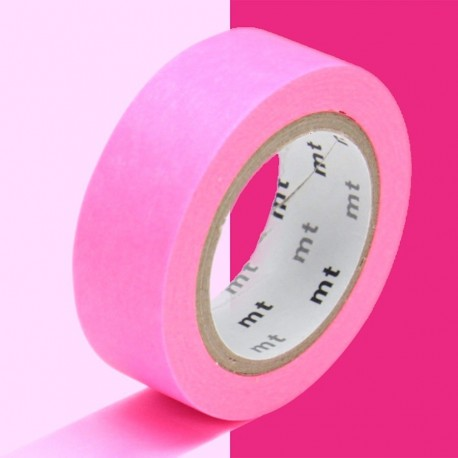 masking tape uni shocking pink washi tape rose fluo