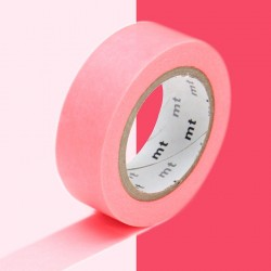 masking tape uni Shocking Red