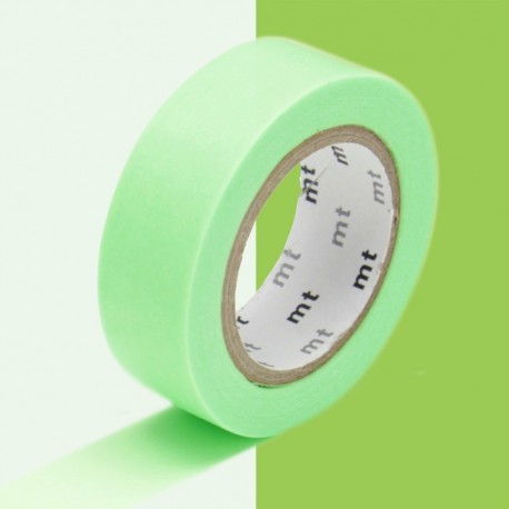 masking tape uni vert fluo washi tape shocking green