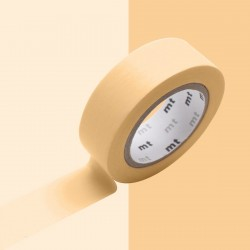 Masking tape uni pastel orange