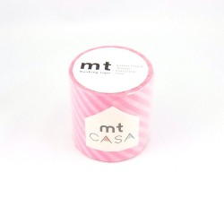 masking tape casa stripe pink washi tape rayures rose 5  cm