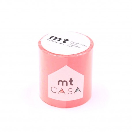 masking tape casa botan pink 5 cm washi tape large rose déco