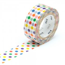 masking tape for kids colorful dot washi tape pois de couleurs