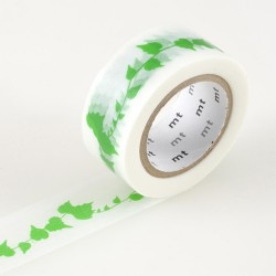masking tape deco feuilles vertes washi tape nature green