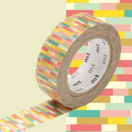 masking tape block pink graphique washi tape multi swipe rose