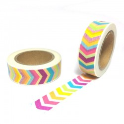 masking tape chevrons arc-en-ciel washi tape arrow color rainbow
