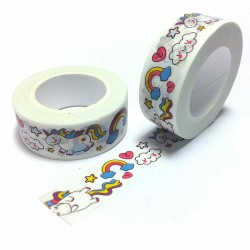 Masking tape licorne washi tape unicorn kawaii