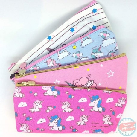 Trousse Licorne Kawaii unicorne pen case school