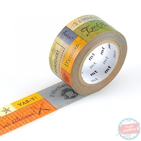 masking tape large message  MTex washi tape message