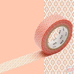 masking tape hanabishi kick ocre rouge washi tape classic japan red